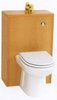 Click for daVinci Monte Carlo complete back to wall toilet set in beech.
