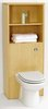 Click for daVinci Monte Carlo back to wall toilet unit with shelves in maple (no pan).