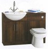 Click for daVinci Wenge bathroom furniture suite.  1100x810x300mm.