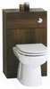 Click for daVinci Monte Carlo complete back to wall toilet set in wenge.