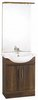Click for daVinci 650mm Wenge Vanity Unit with ceramic basin, mirror and lights.