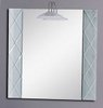 Click for Reflections Hastings illuminated bathroom mirror.  Size 800x800mm.