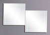 Click for Reflections Swansea 2 bathroom mirror set.  Size 500x500mm.