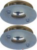 Click for Lights 2 x Low voltage gold & glass downlight with lamps & transformers.